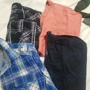 4 Short sleeves Shirts
